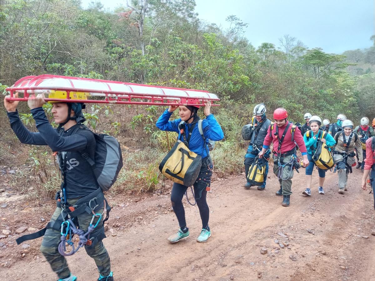 Curso de Resgate em montanha para médicos